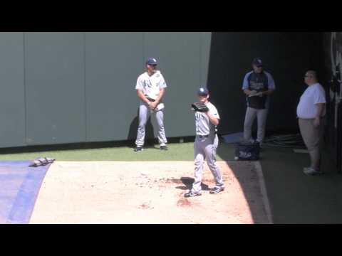 Jeremy Hellickson 2013 - A day With Vinnie Cresta and Carson Cooper