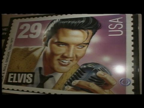 From The Archives Release Of Elvis Stamp