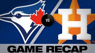 Blue Jays jack 5 homers to beat Astros | Blue Jays-Astros Game Highlights 6/16/19