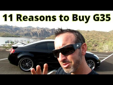11 Reasons to buy a Infiniti G35