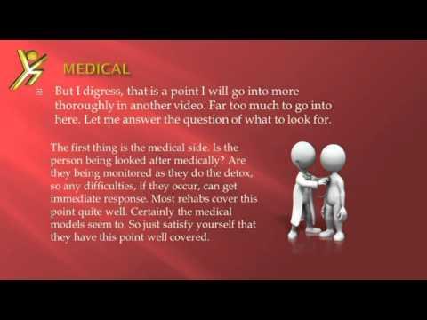 How to pick a good drug rehab program