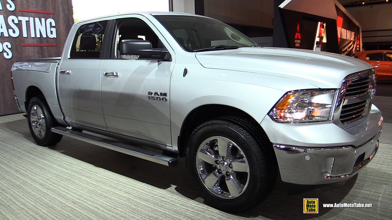 2017 ram 1500 big horn exterior and interior walkaround 2016 la auto show youtube. Black Bedroom Furniture Sets. Home Design Ideas