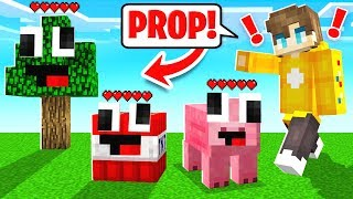 I Found *ALL* The Minecraft PROP Hiders!