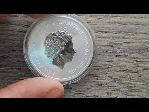 1 dollar silver Marvel Thor 2018 Tuvalu
