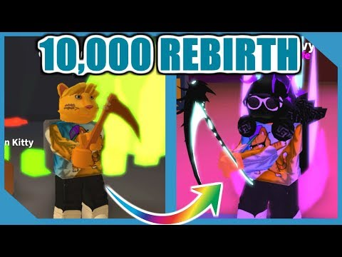 What Happens When You Hit 10,000 Rebirth - Roblox Mining Simulator