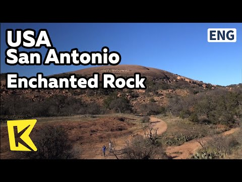 【K】USA Travel-San Antonio[미국 여행-샌 안토니오]인첸티드 록/San Antonio/Enchanted Rock/Hilly Land/Granite