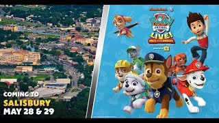 PAW Patrol Live! Shows in Salisbury May 28 & 29!