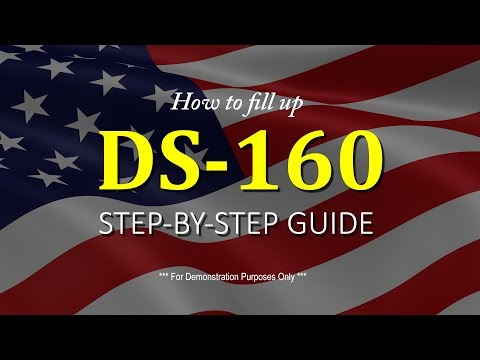 How to Fill up - DS-160 step by step guide for US B2 Visa