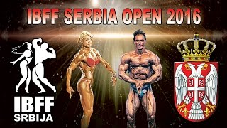 IBFF SERBIA OPEN 2016 - JUNIOR BODYBUILDING