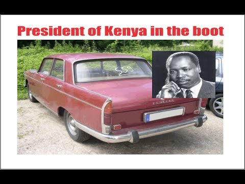 The Day President Moi Was Hidden In The Boot Of An Old Car Part 1