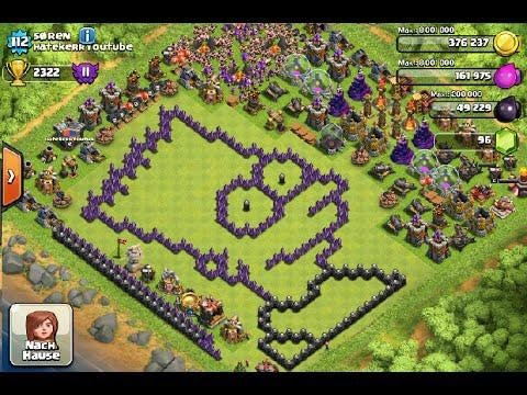 Funny Base Compilation || Clash of Clans || Funny Bases