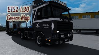 "[""ETS2 1.30"", ""Greece2: Extending 1:1 real-life map to Korinthos""]"