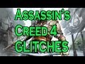 Assassin's Creed 4 FLYING People & RISING Jackdaw Glitch!!!