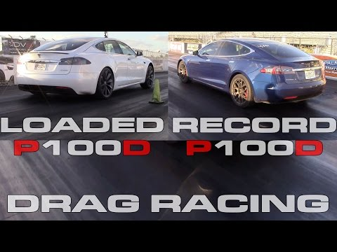 tesla model s p100d new record and fully loaded 1 4 mile. Black Bedroom Furniture Sets. Home Design Ideas