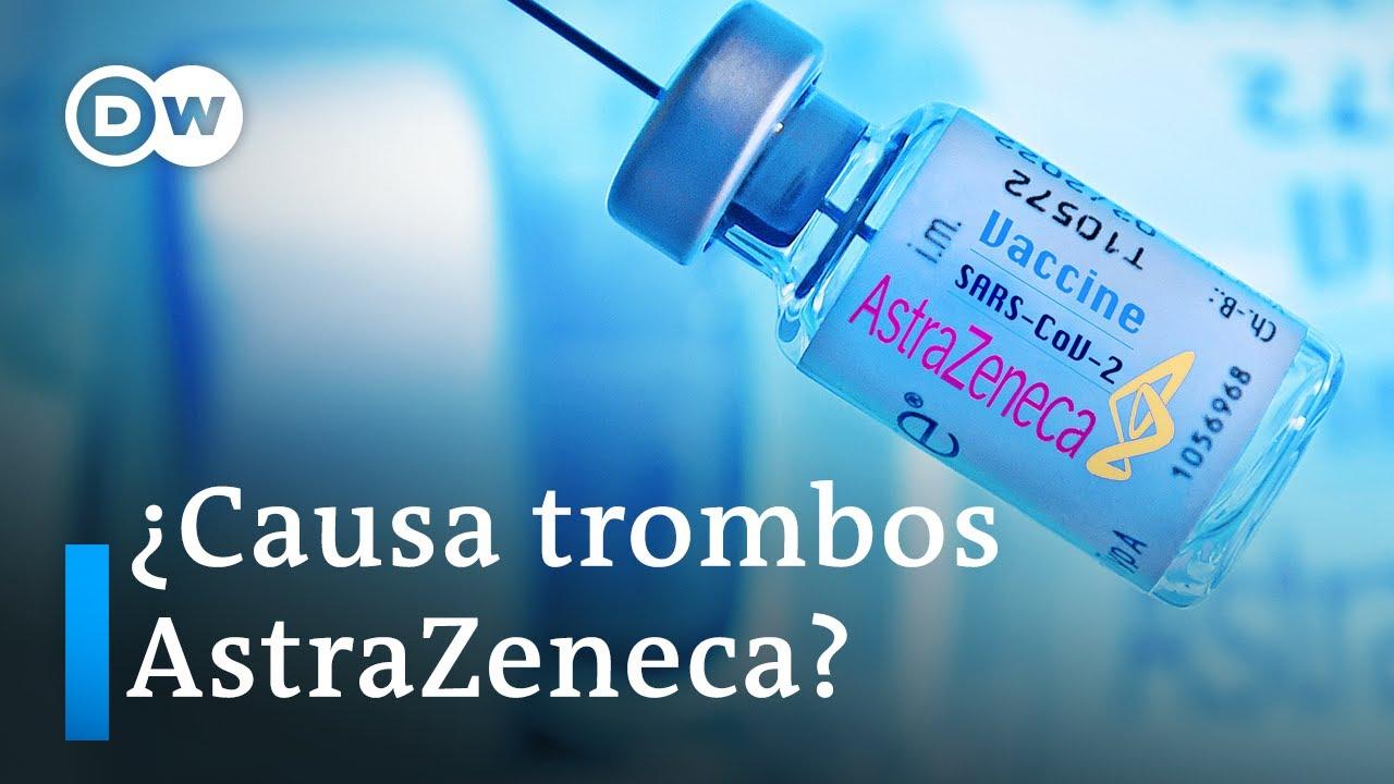 Alemania restringe el uso de la vacuna de AstraZeneca - YouTube