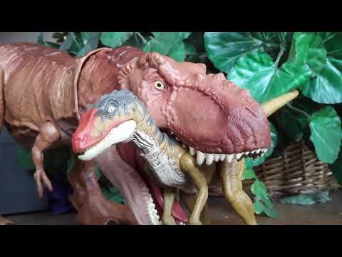 T-Rex VS Velociraptor