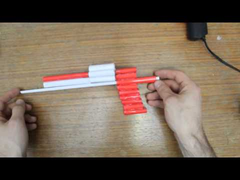 How to Make a Paper Revolver that Shoots
