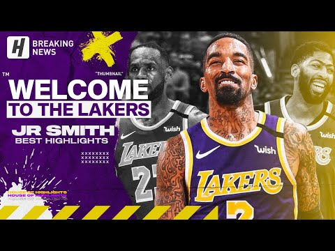 JR Smith IS BACK! BEST Highlights & CLUTCH Shots! Welcome to Los Angeles Lakers!