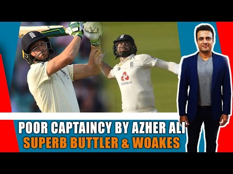 Poor Captaincy By Azher Ali Superb Buttler@woakes