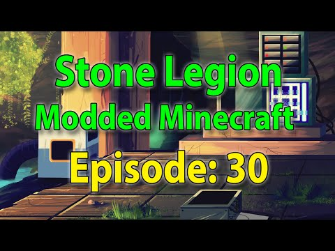 Let's Play Minecraft Modded - Episode 30 - Resonant Energy Cells + Magnum Torches in QED!