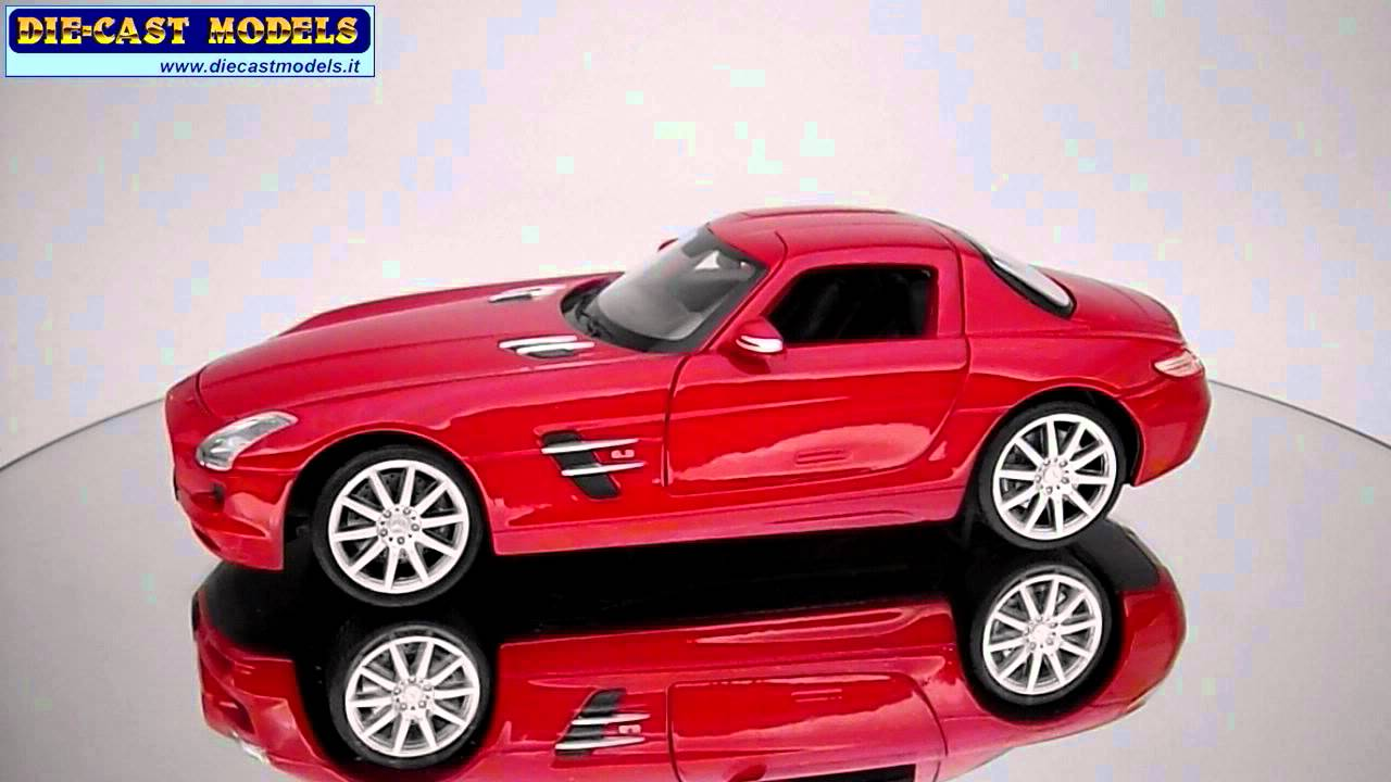Mercedes Benz Sls Amg Review >> Mercedes SLS AMG - Welly - 1:24 - YouTube
