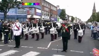 Mourne Young Defenders | Drum Salute