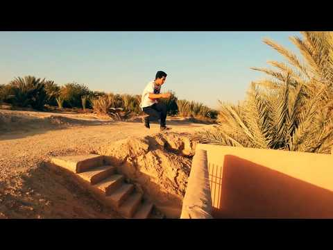 Tricking in desert with | Skitzo