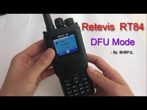 Retevis RT84 DFU Mode (Upgrade mode)