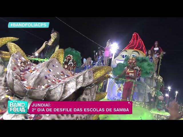Jundiaí: 2º dia de desfile das escolas de samba