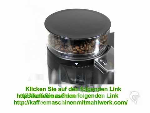 kaffeemaschinen mit mahlwerk beste kaffeemaschine youtube. Black Bedroom Furniture Sets. Home Design Ideas