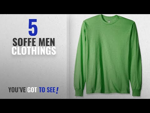 b95c1618 Top 10 Soffe Men Clothings [ Winter 2018 ]: MJ Soffe Men's Long-Sleeve  Cotton T-Shirt, Poison Green, - YouTube