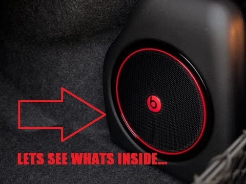 How To Open A Beats Audio Subwoofer Youtube