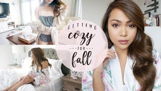 Getting Cozy for Fall 🍁🍂 Beauty • Home • LifeStyle
