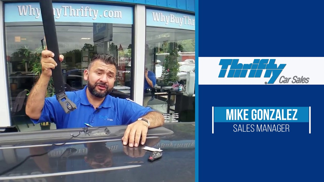 Gonzalez Auto Sales >> Thrifty Auto Sales Mike Gonzalez Tip Chrysler Town Country Roof Rack Hd