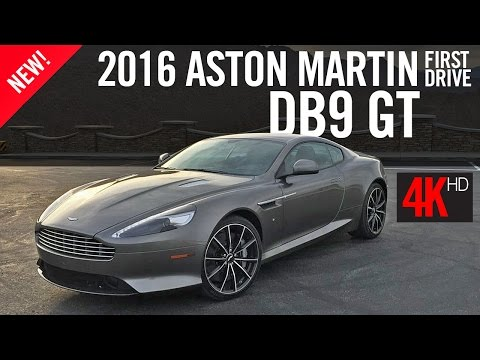 2016 Aston Martin DB9 GT First Drive Review 4K