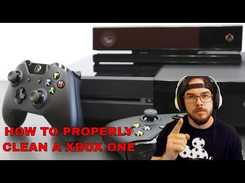 How to Clean a Xbox One