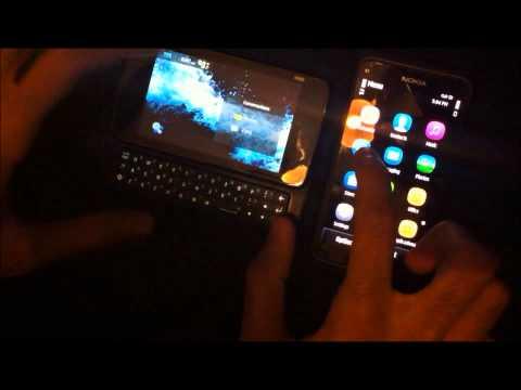Nokia E7 vs Nokia N900