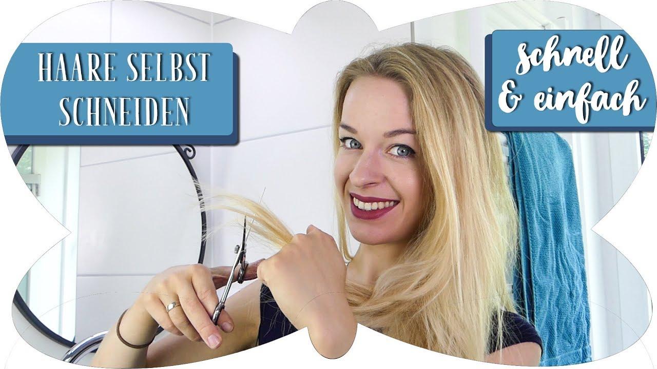Tutorial Haare Selber Schneiden Schnelle Einfache Anleitung Zum