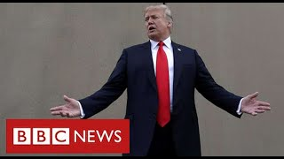 Four years on - Trump's promise to build a wall on Mexican border is unfulfilled - BBC News
