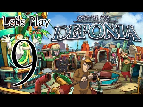 Let's Play Chaos On Deponia - Episode 9