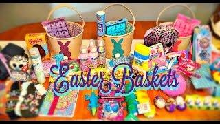 What's in my kid's Easter basket Teen, preteen (with autism) & preschooler