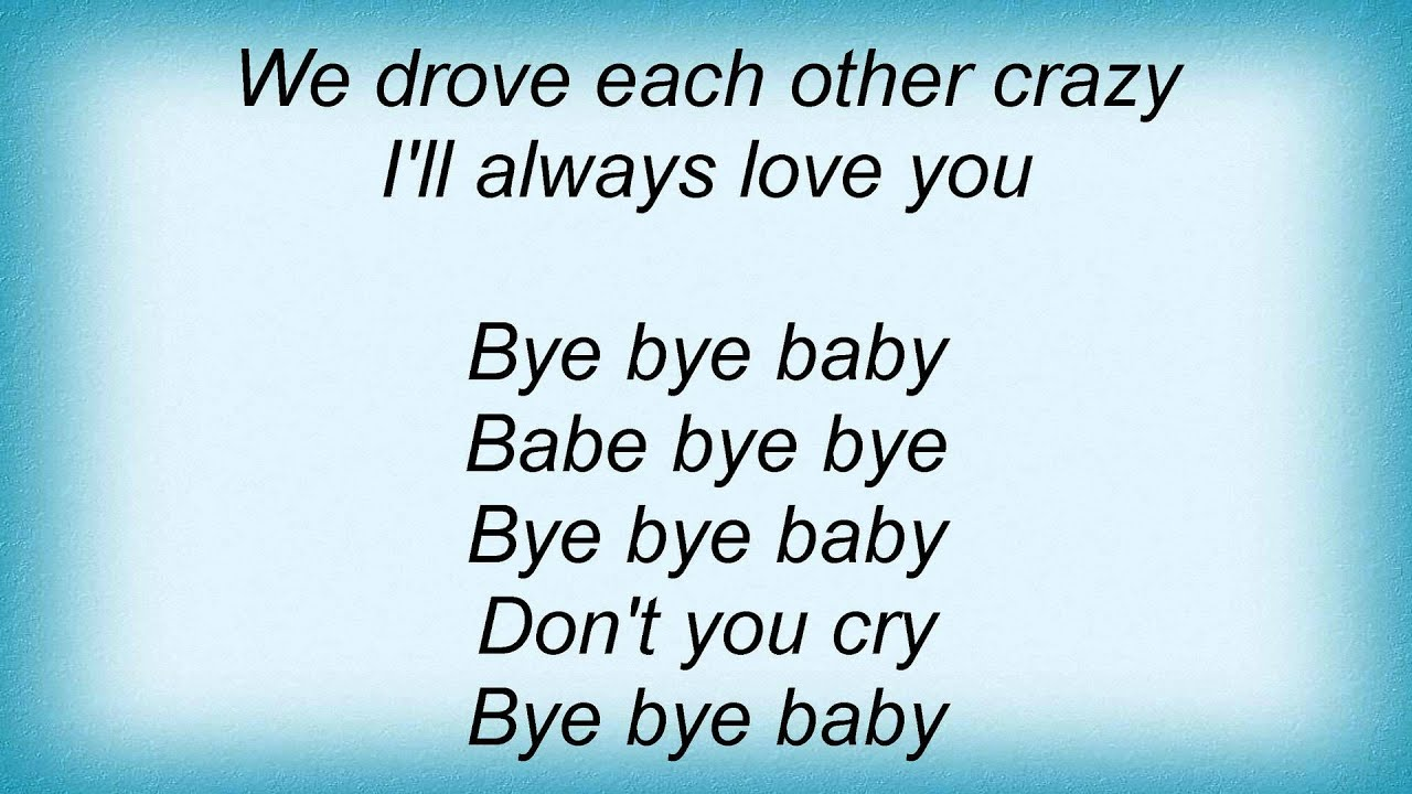 20021 Ramones - Bye Bye Baby Lyrics - YouTube