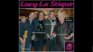 Lucy La Stique, Stretchin' it Out, live.