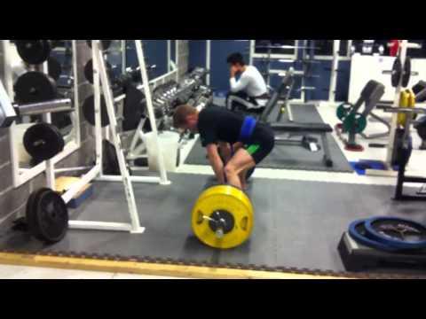 215kg Deadlift @ 65kg Bodyweight (3,3 X Bw)