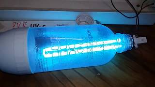 Dezinfekce lahve SodaStream pomocí UV-C trubice (EXPERIMENT)