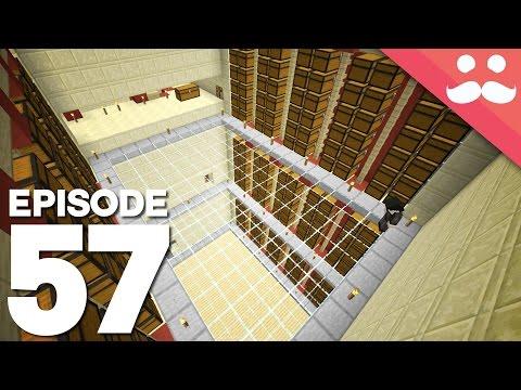 Hermitcraft 4: Episode 57 - The Storage Trench!