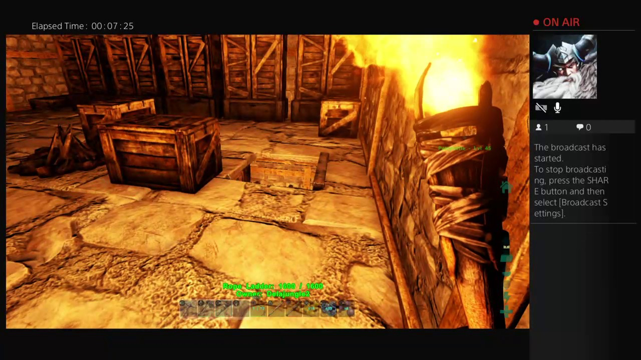 how to start in ark ps4