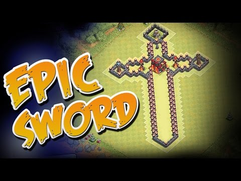 EPIC SWORD BASE (Clash of Clans Gameplay)