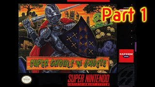 Super Ghouls 'n Ghosts | The SNES Version of Dark Souls | LIVE STREAM