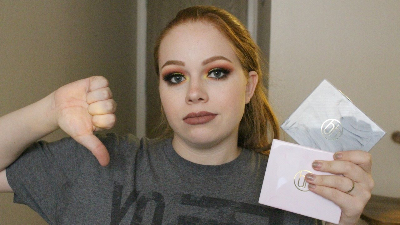 Bh Cosmetics Marble Collection Palettes Review Youtube